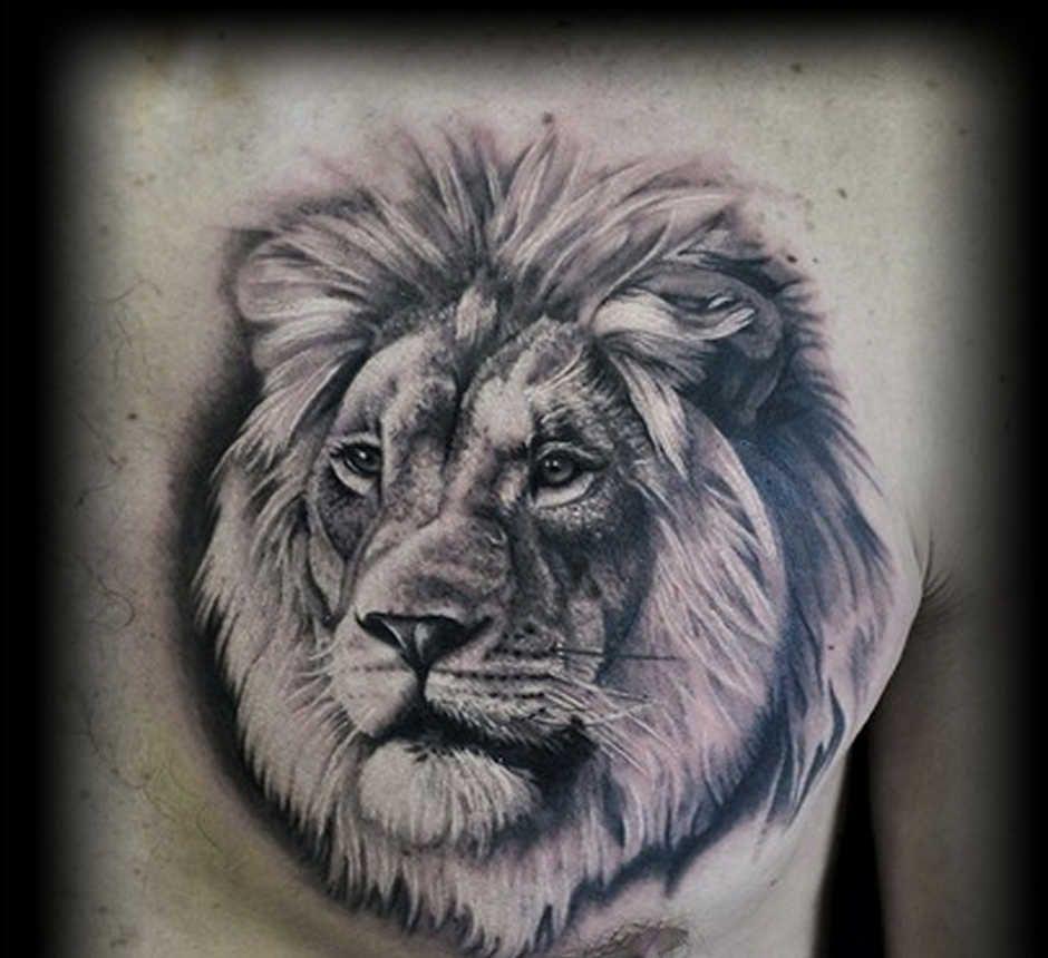 тату морда льва значение правдивой будет