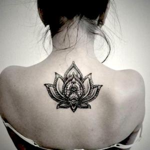 Индийский стиль в тату. История и значения