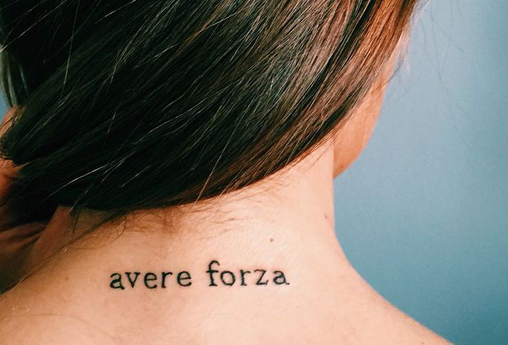 Фразы для тату на итальянском языке0