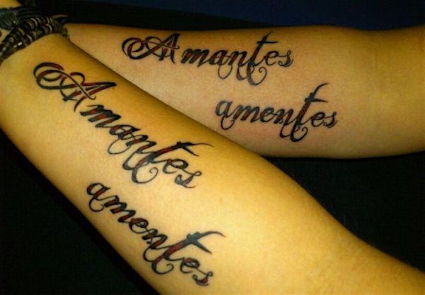 Amantes sunt amentes на латыни