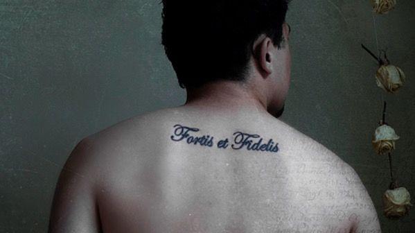 Fidelis et forfis татуировка