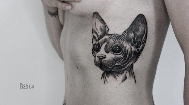 Ilya Brezinski tattoo