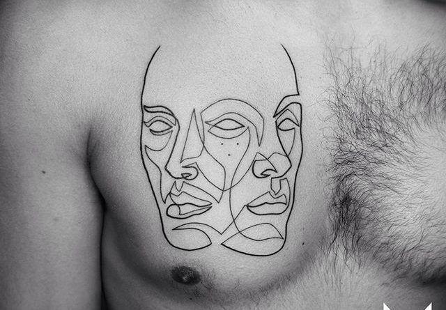 Татуировки немецкого мастера Mo Ganji