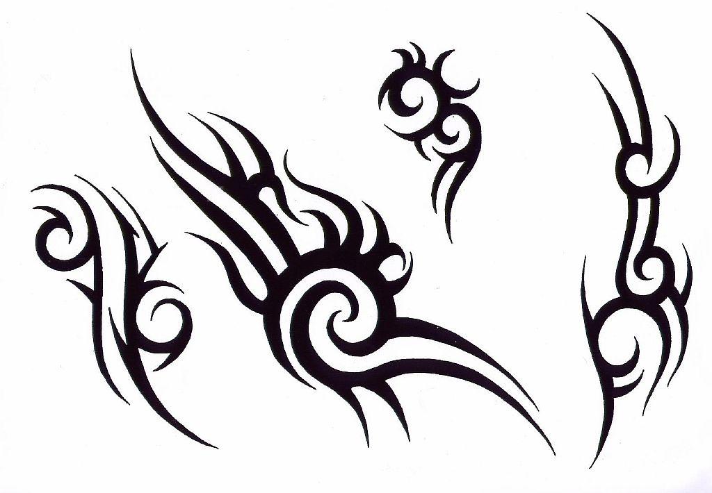 Трайбл-тату: 70 эскизов татуировки24