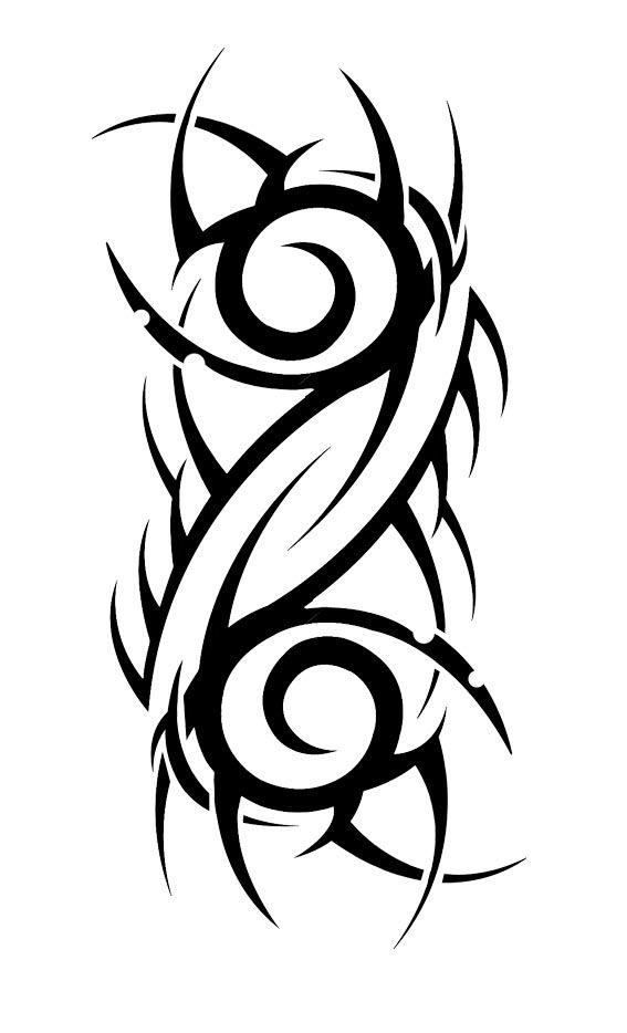 Трайбл-тату: 70 эскизов татуировки4