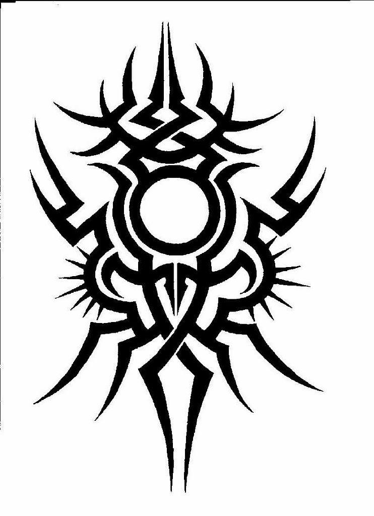 Трайбл-тату: 70 эскизов татуировки14