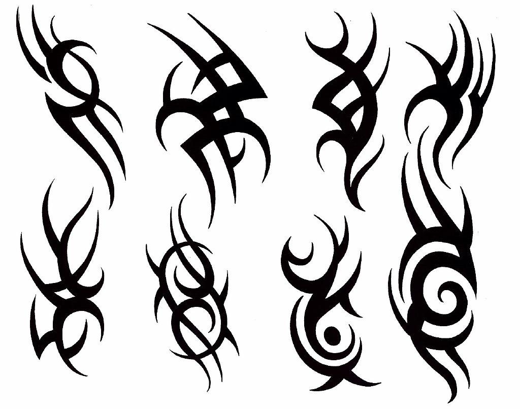 Трайбл-тату: 70 эскизов татуировки25