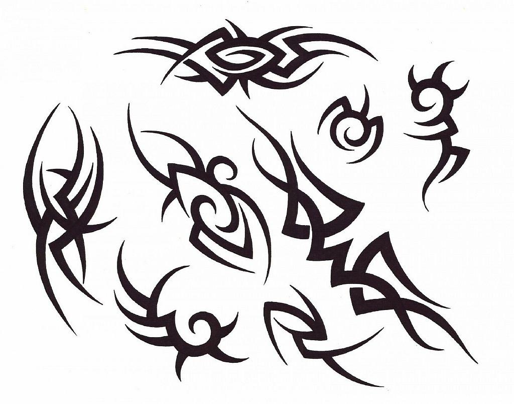 Трайбл-тату: 70 эскизов татуировки27