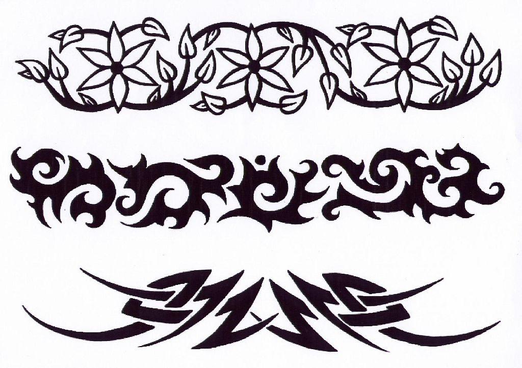 Трайбл-тату: 70 эскизов татуировки3