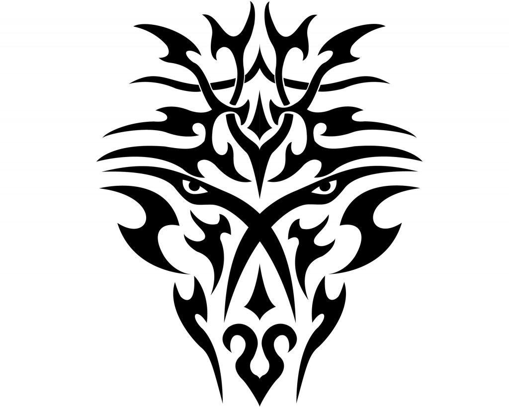 Трайбл-тату: 70 эскизов татуировки19