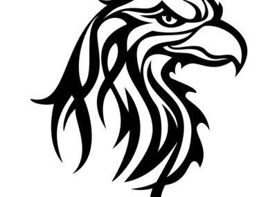 Трайбл эскизы орел