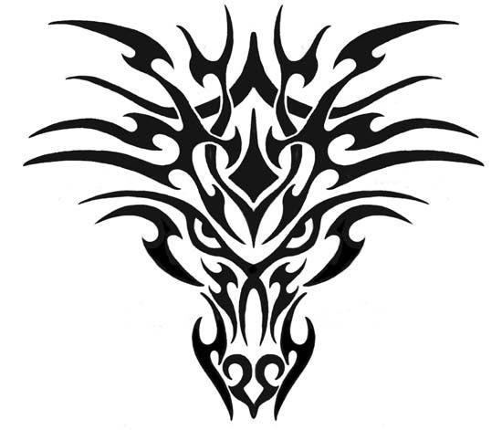 Трайбл-тату: 70 эскизов татуировки15
