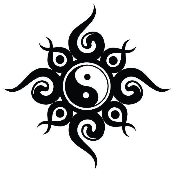 Трайбл-тату: 70 эскизов татуировки11