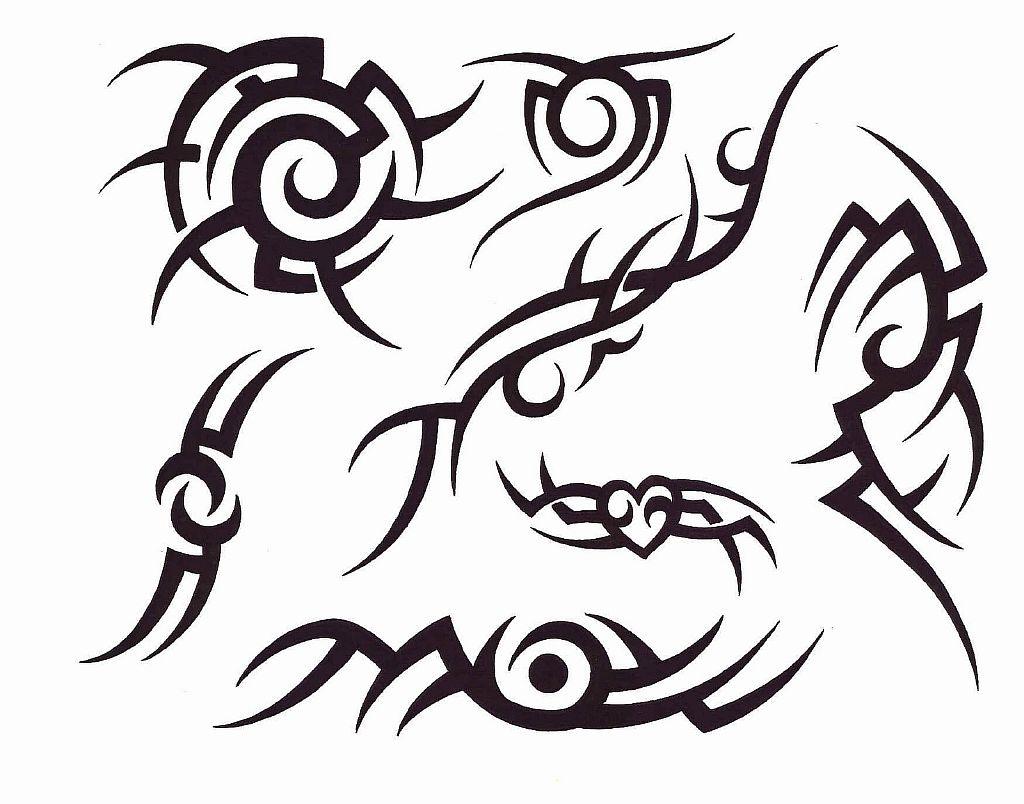 Трайбл-тату: 70 эскизов татуировки20