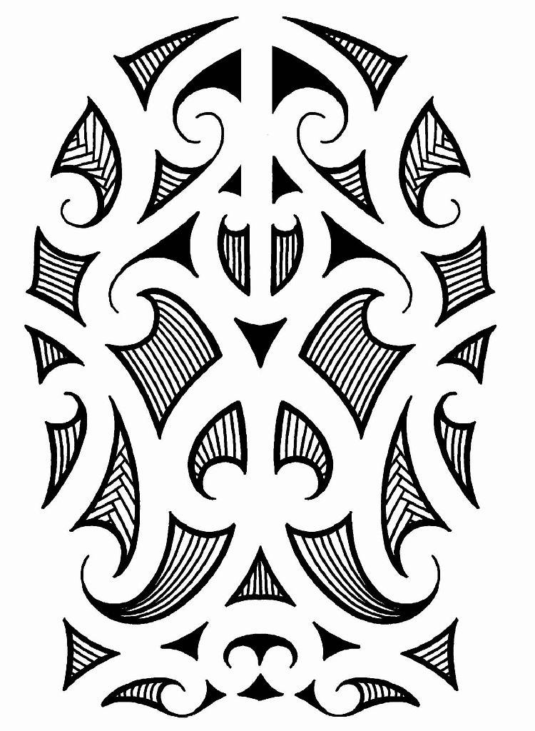 Трайбл-тату: 70 эскизов татуировки29