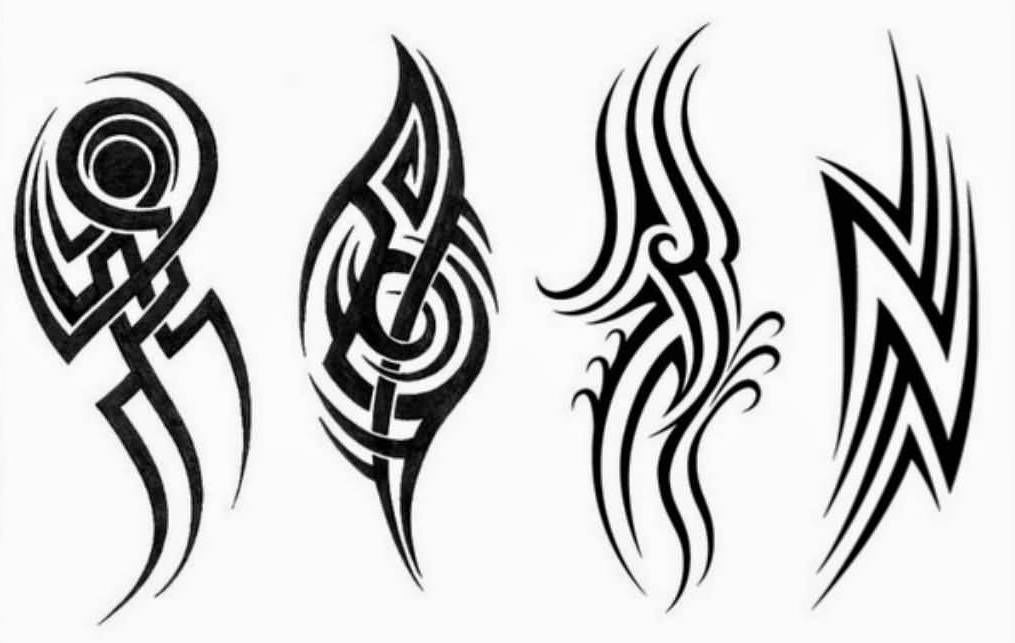 Трайбл-тату: 70 эскизов татуировки13