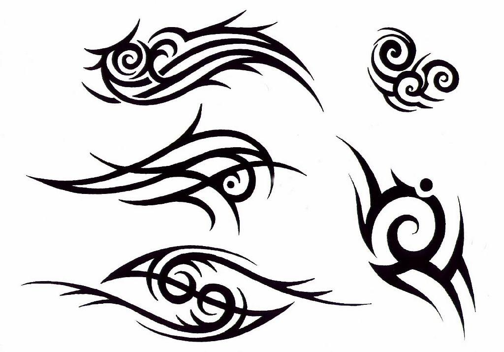 Трайбл-тату: 70 эскизов татуировки34