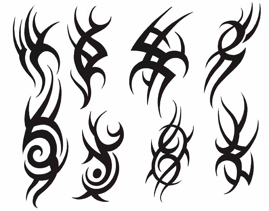 Трайбл-тату: 70 эскизов татуировки37