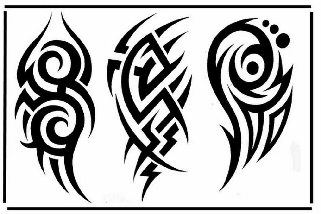 Трайбл-тату: 70 эскизов татуировки40