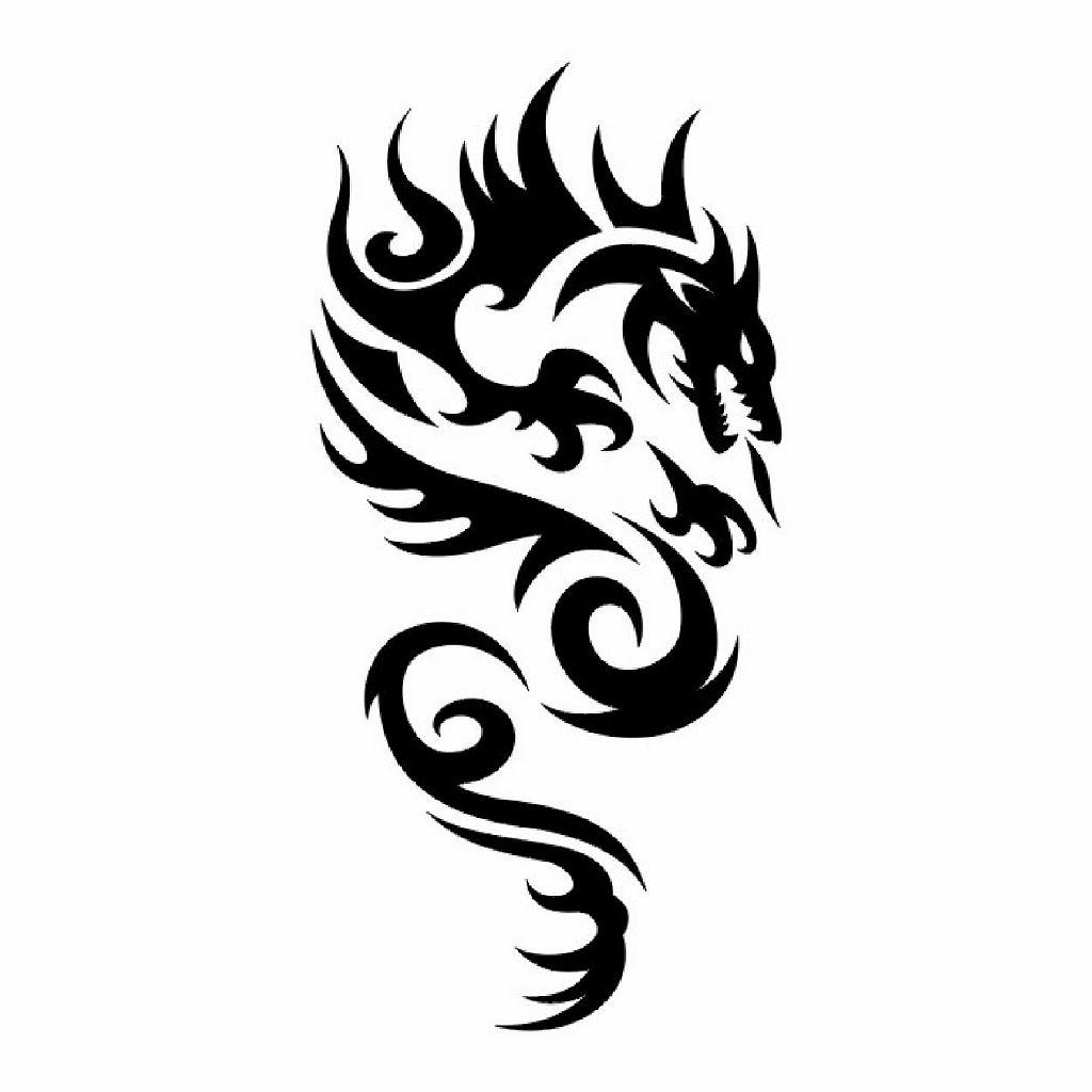 Трайбл-тату: 70 эскизов татуировки47