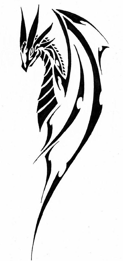 Трайбл-тату: 70 эскизов татуировки50