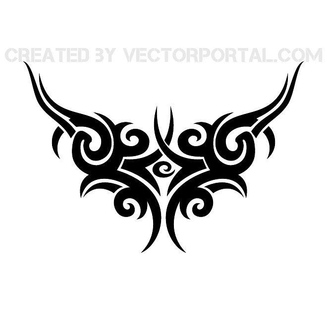 Трайбл-тату: 70 эскизов татуировки54
