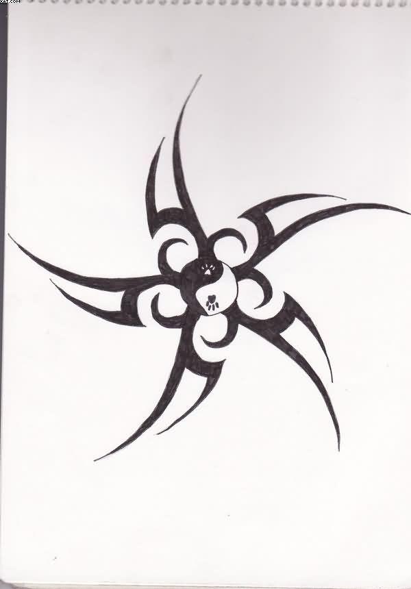 Трайбл-тату: 70 эскизов татуировки55
