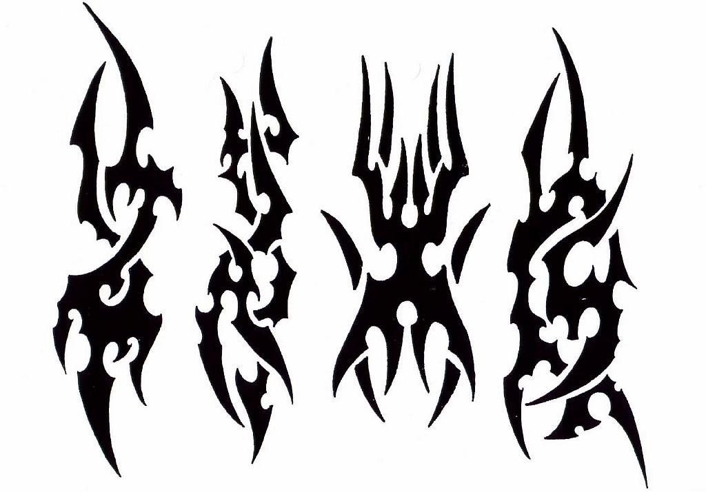 Трайбл-тату: 70 эскизов татуировки57