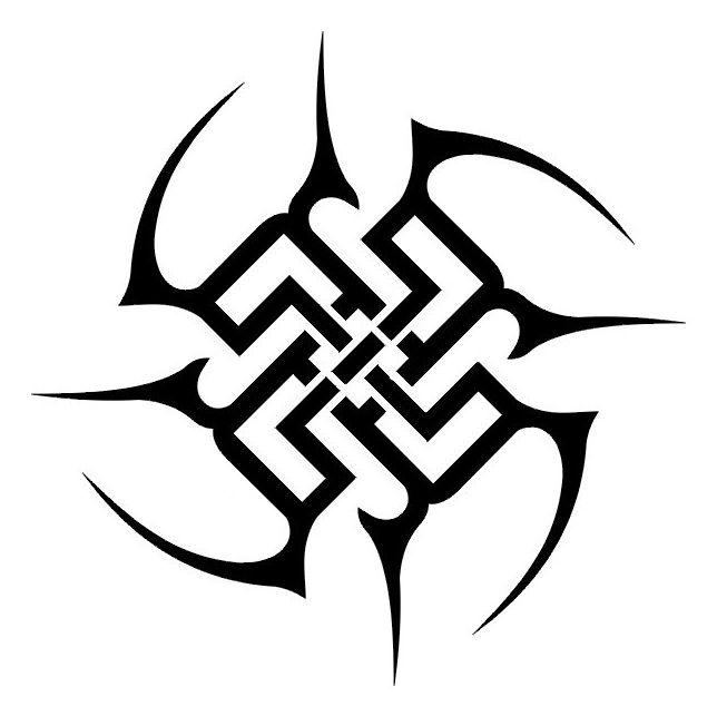 Трайбл-тату: 70 эскизов татуировки58