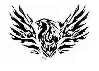 Трайбл эскизы феникс