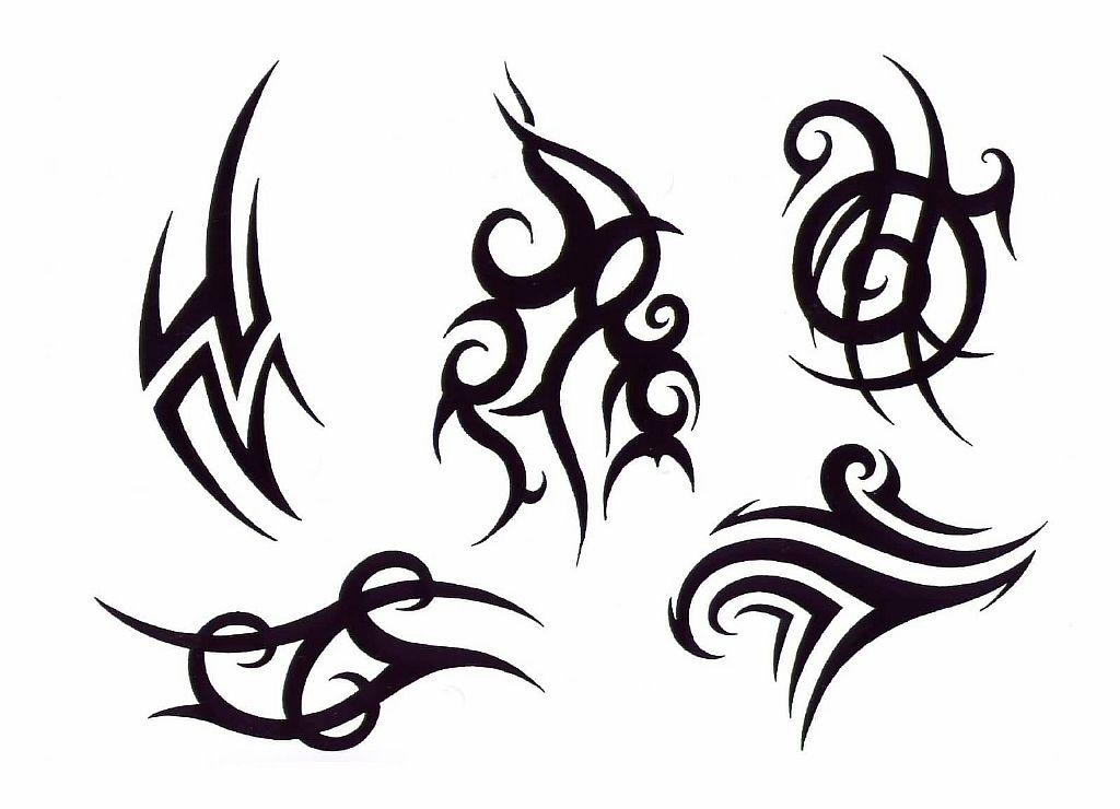 Трайбл-тату: 70 эскизов татуировки60