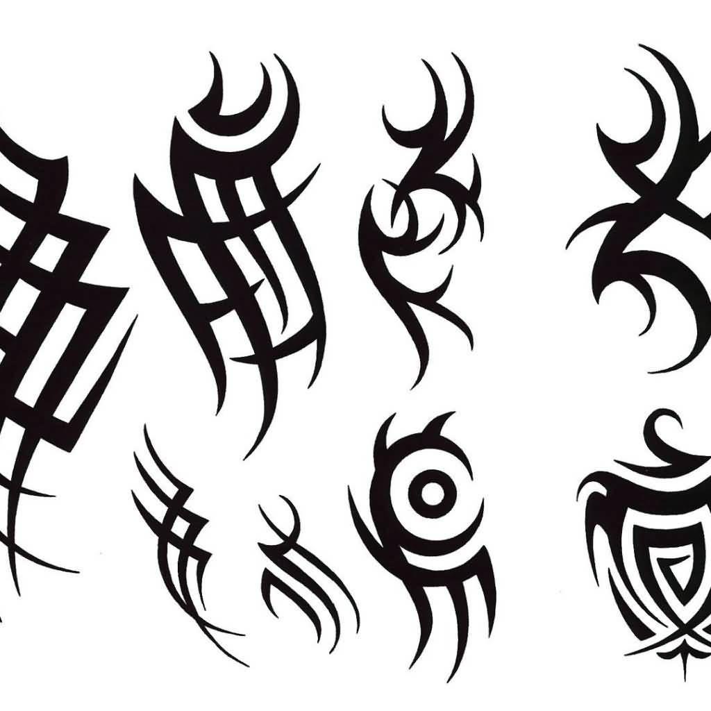 Трайбл-тату: 70 эскизов татуировки62