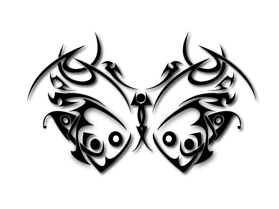 Трайбл-тату: 70 эскизов татуировки63