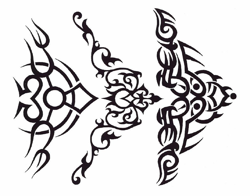 Трайбл-тату: 70 эскизов татуировки7