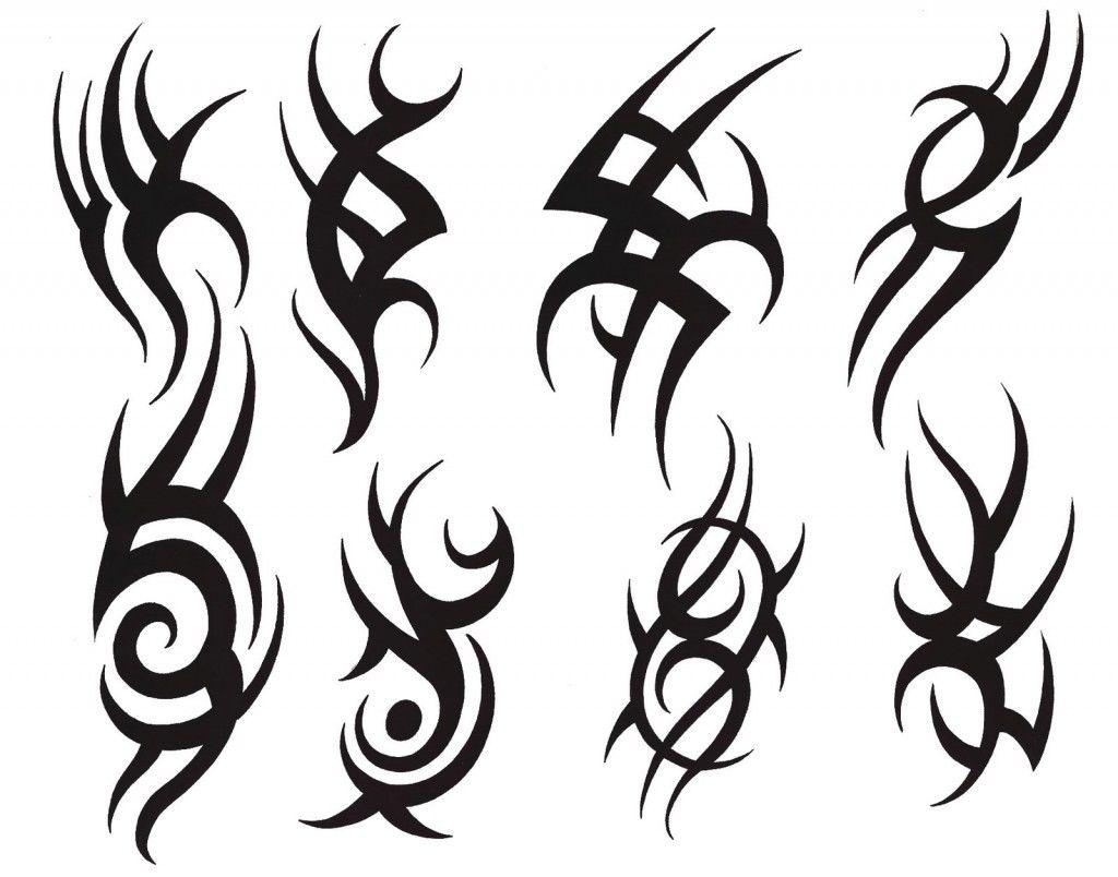 Трайбл-тату: 70 эскизов татуировки18