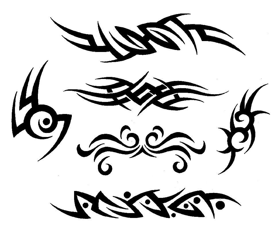Трайбл-тату: 70 эскизов татуировки21