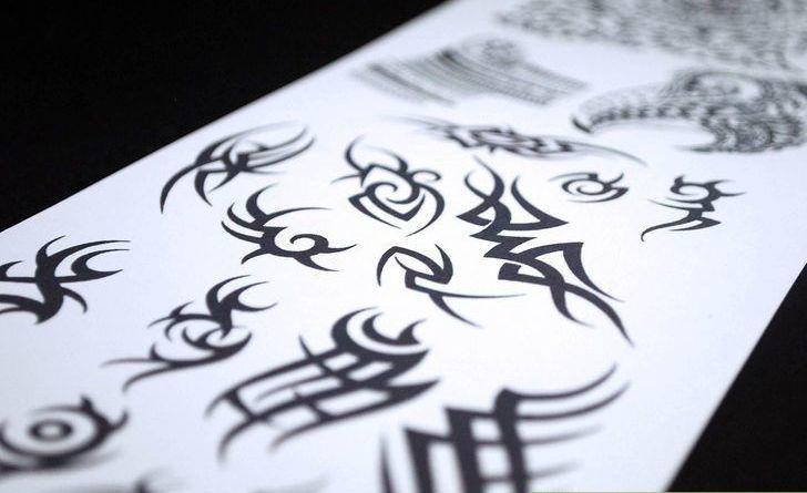 эскизы трайбл татуировок