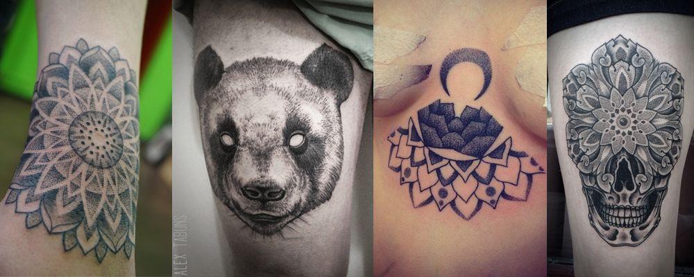dotwork tattoos