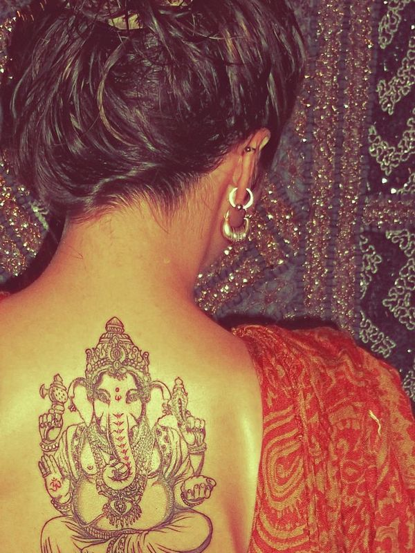 indian ontattoo