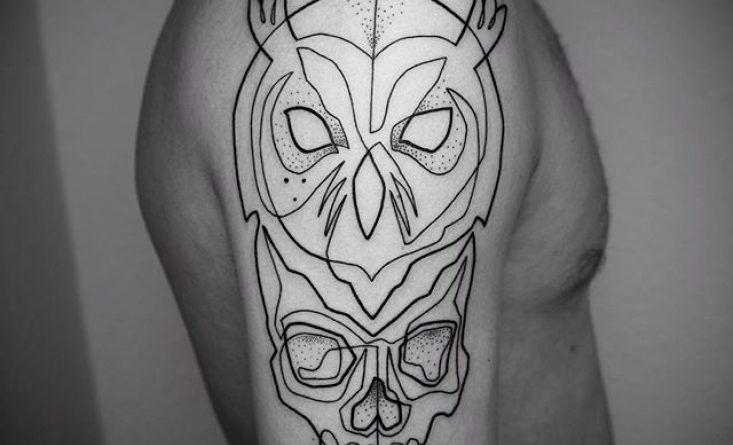 арт-татуировка