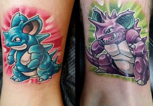 Татуировки Pokemon Go | onTattoo