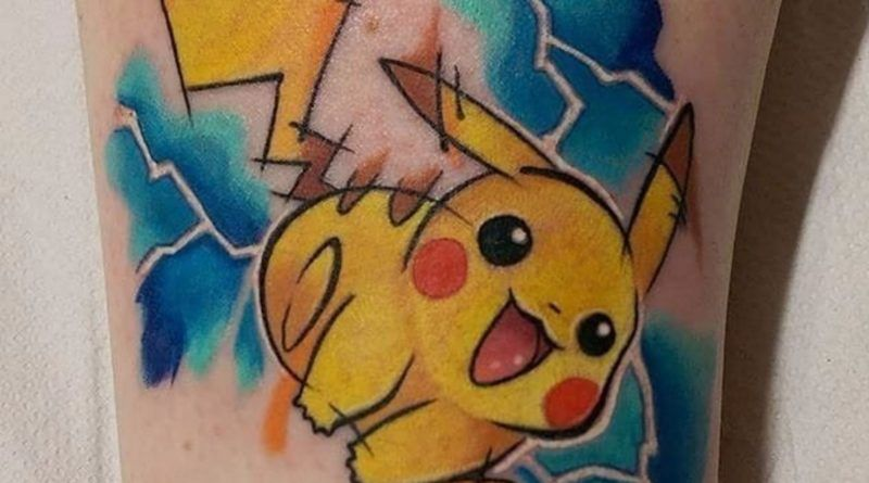 pokemon tattoo foto e