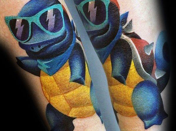 pokemon tattoo foto