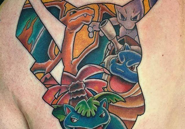 Татуировки Пикачу Pokemon Go   onTattoo