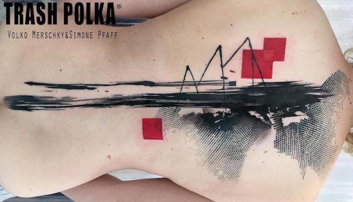 Реалистичная корзина Polka была изобретена Волко Мерщиком и Симоной Пфафф, двумя художниками-татуировками