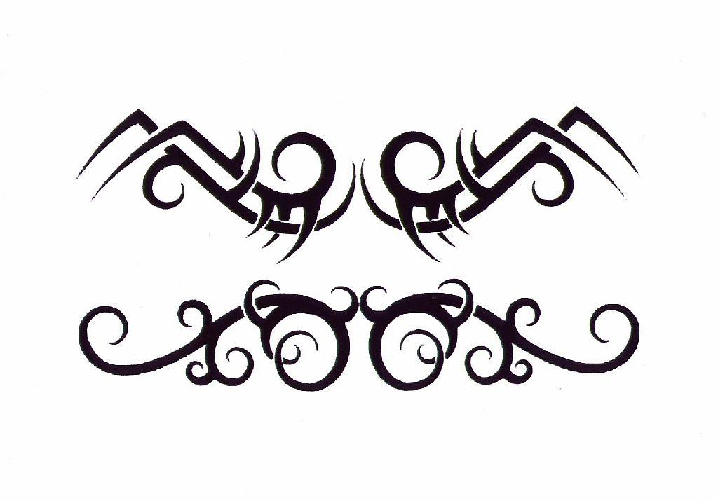 Трайбл-тату: 70 эскизов татуировки2
