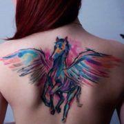Акварельные татуировки. За и против