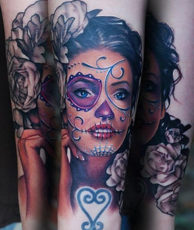 Sugar Skull Tattoo Meaning & Designs - Cream Magazine