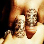 Татуировки с черепами (45 фото)