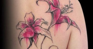 Flowers onTattoo